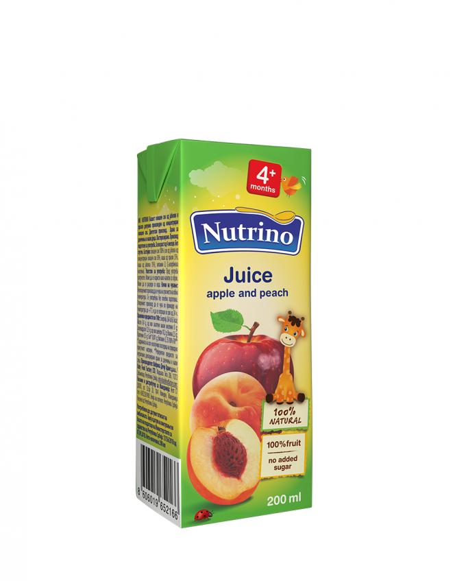 Nutrino sok jabolko breskev - Merit