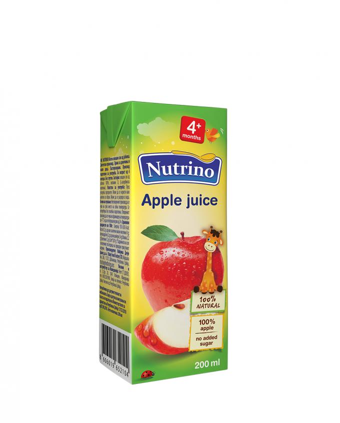 Nutrino sok jabolko - Merit