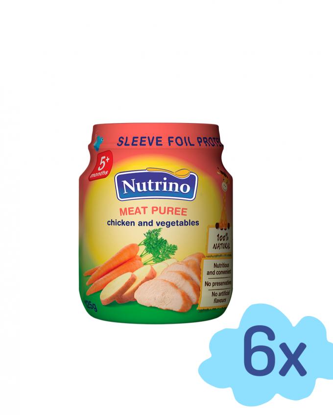 Nutrino mesni pire - piščanec z zelenjavo - Merit