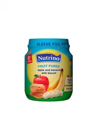 Nutrino sadni pire jabolko banana keks - Merit