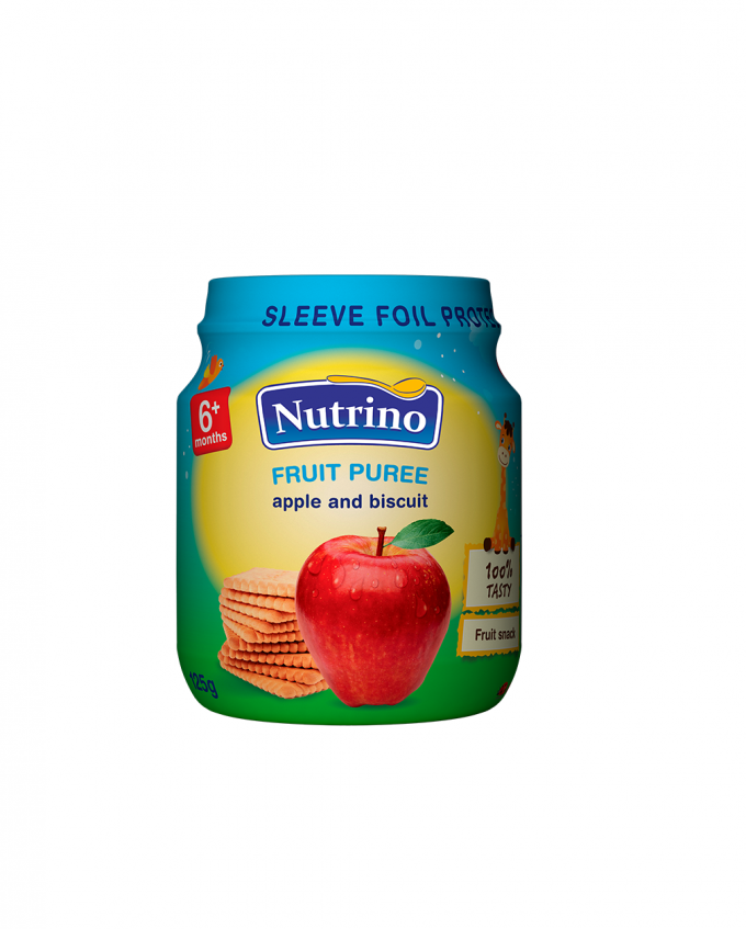 Nutrino sadni pire - jabolko in keks - Merit