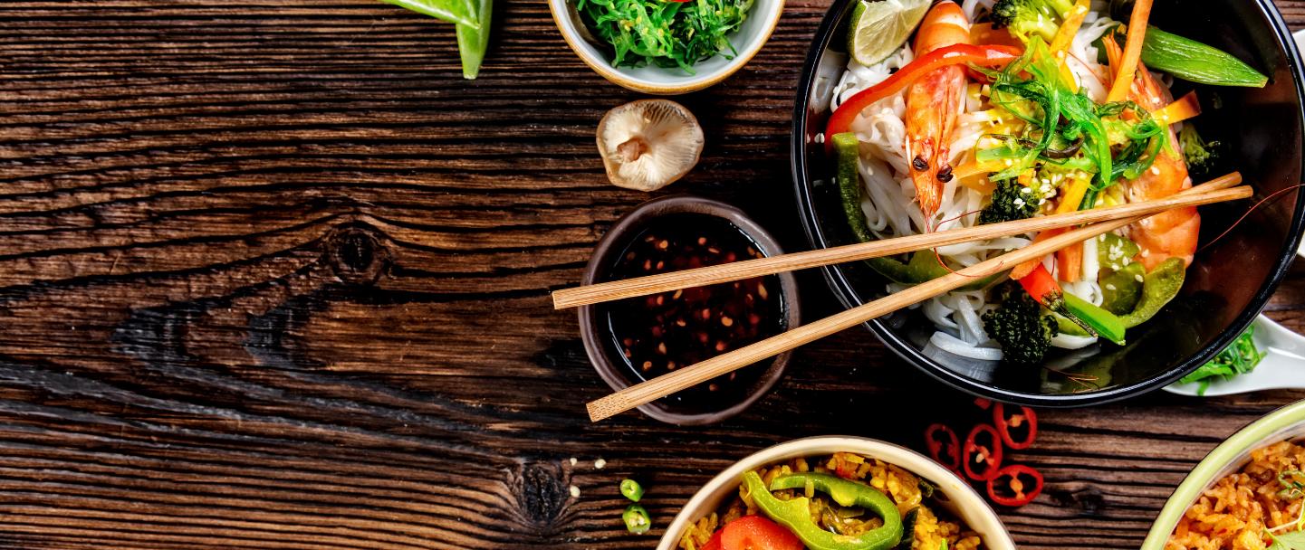 Asian food – banner